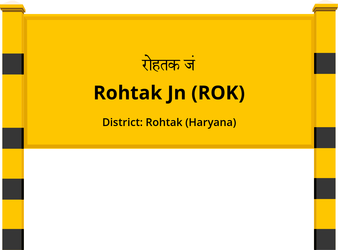 Rohtak Jn (ROK) Railway Station