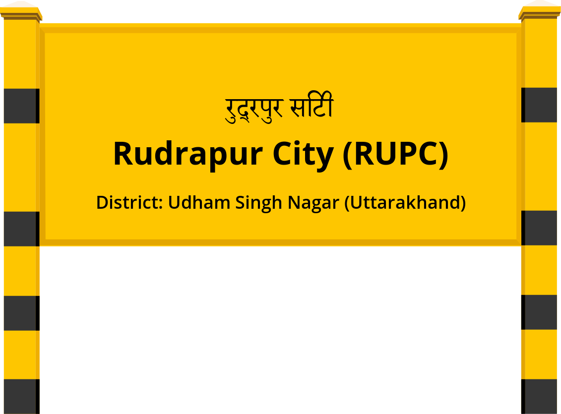 Rudrapur City (RUPC) Railway Station