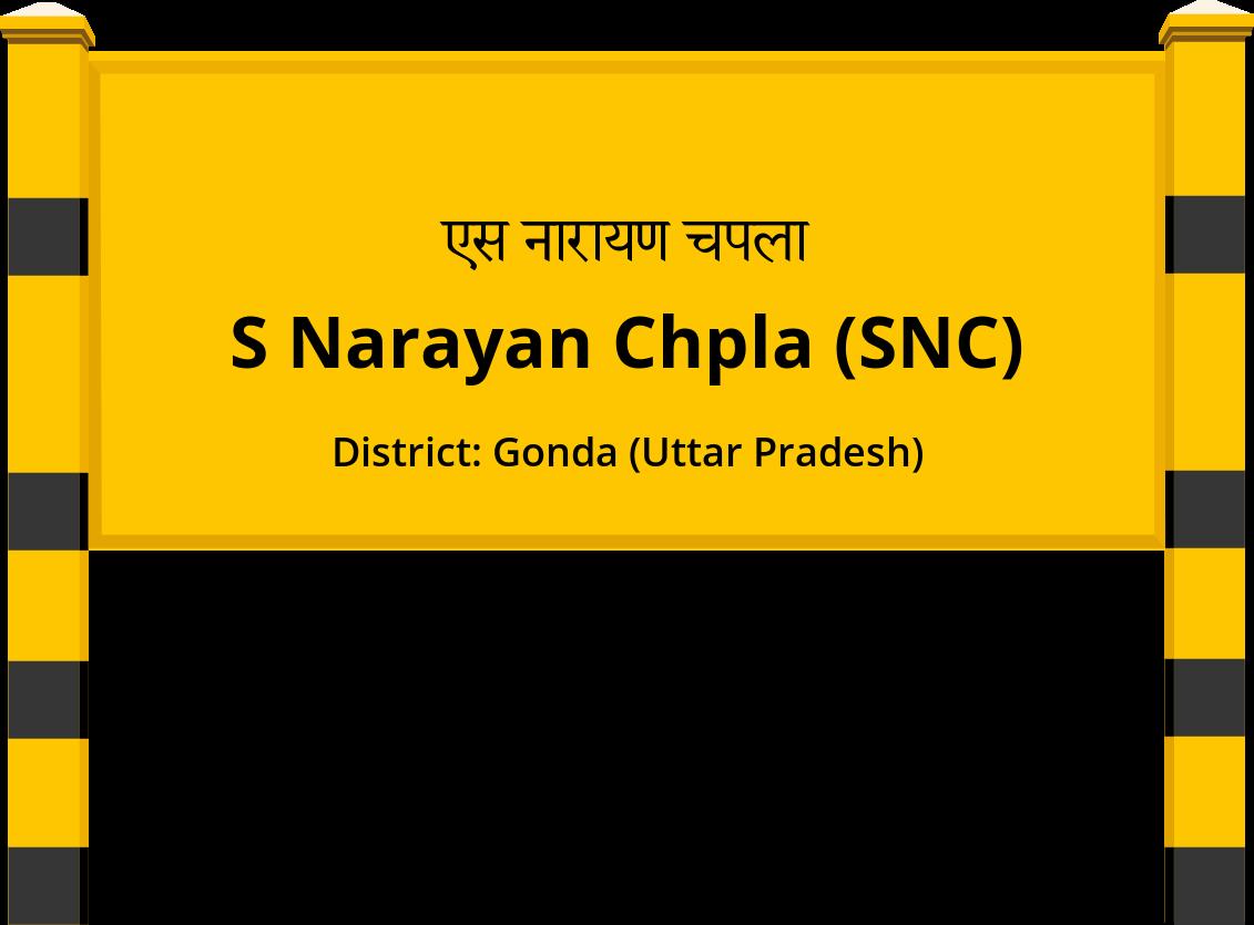 S Narayan Chpla (SNC) Railway Station