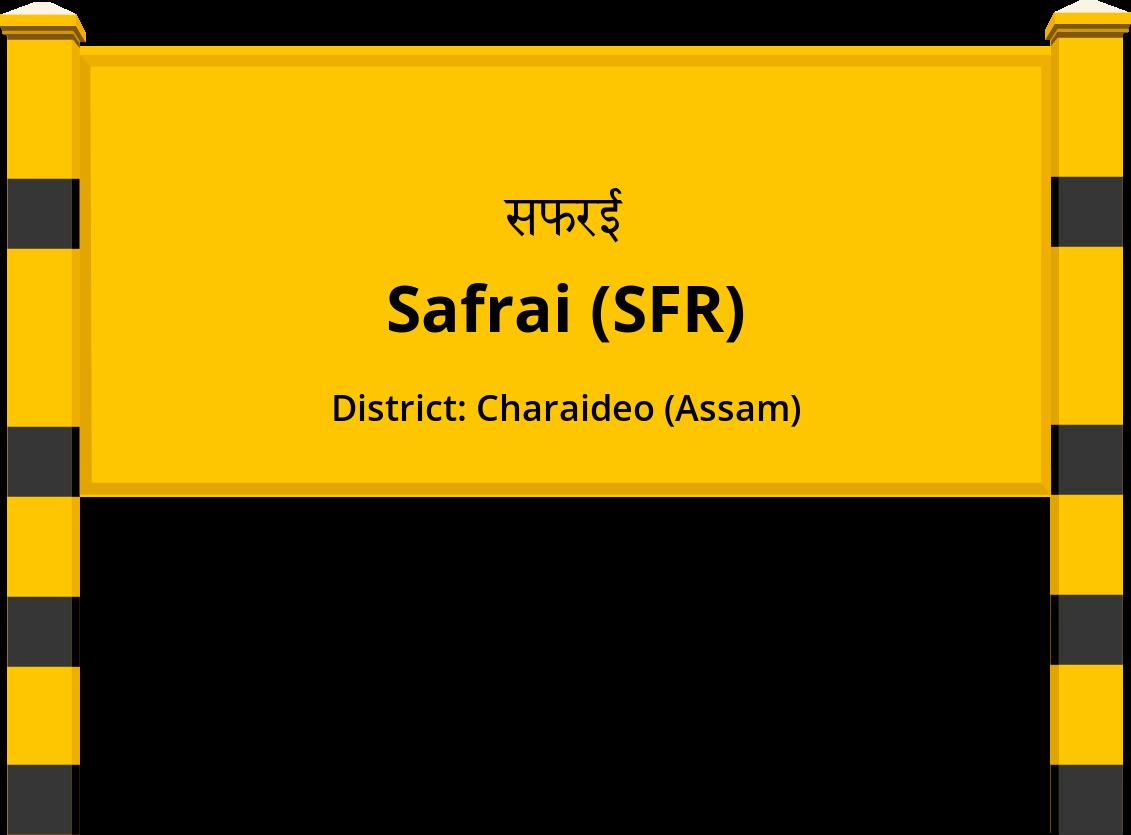 Safrai (SFR) Railway Station