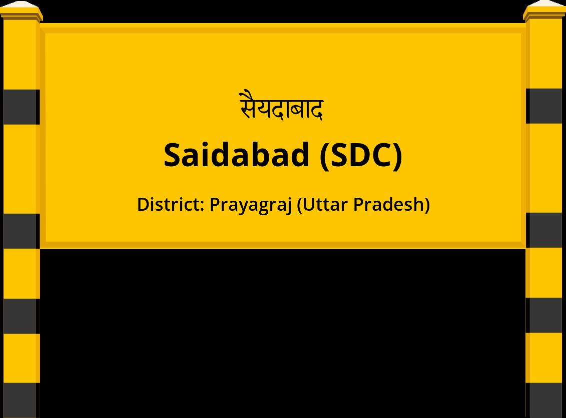 Saidabad (SDC) Railway Station
