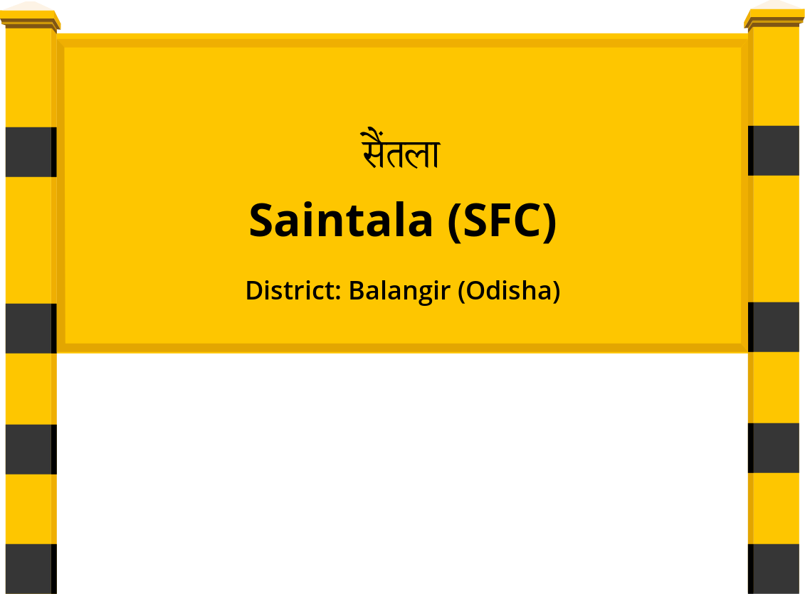 Saintala (SFC) Railway Station