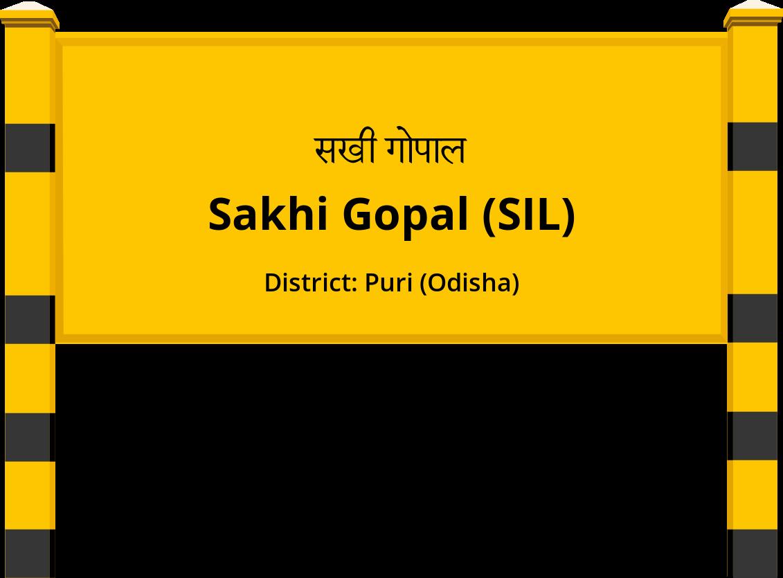 Sakhi Gopal (SIL) Railway Station