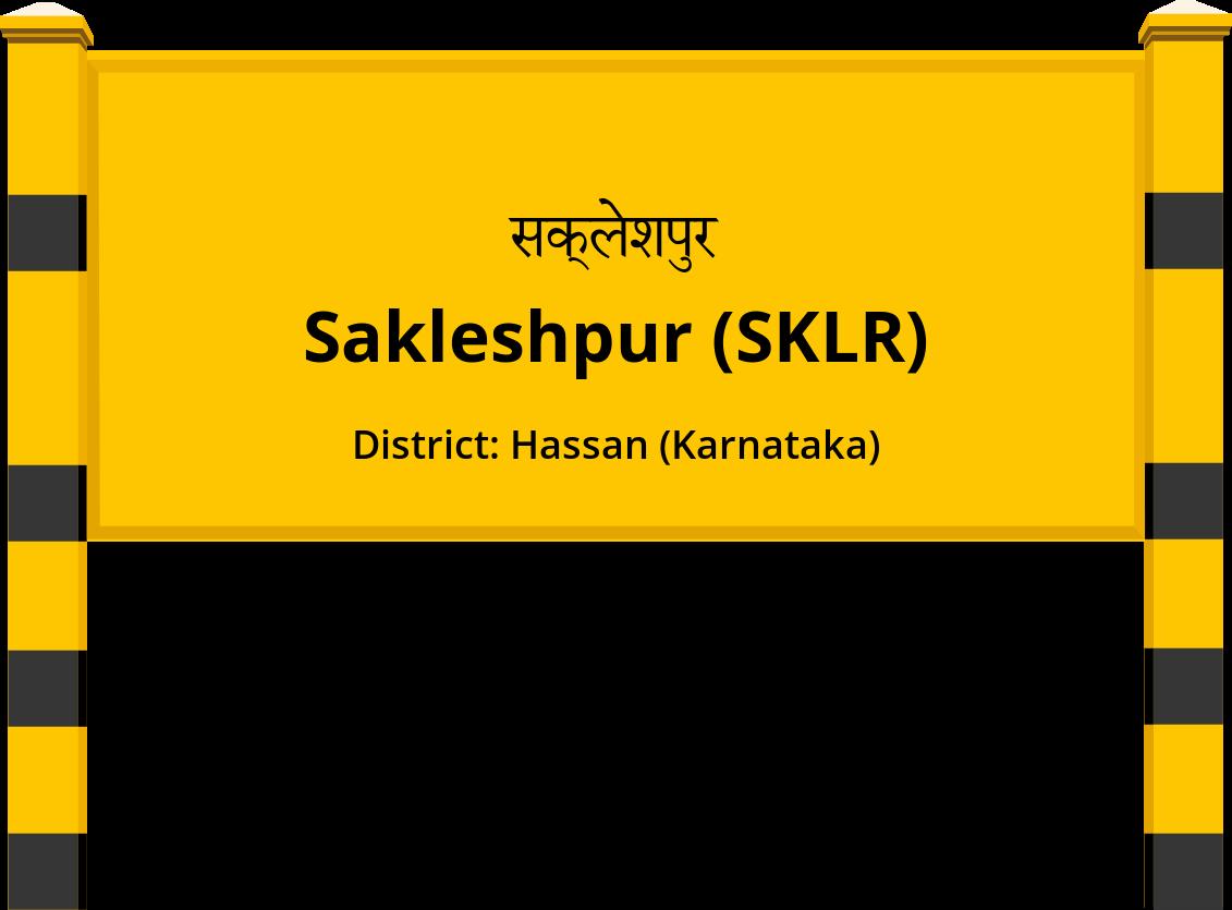 Sakleshpur (SKLR) Railway Station