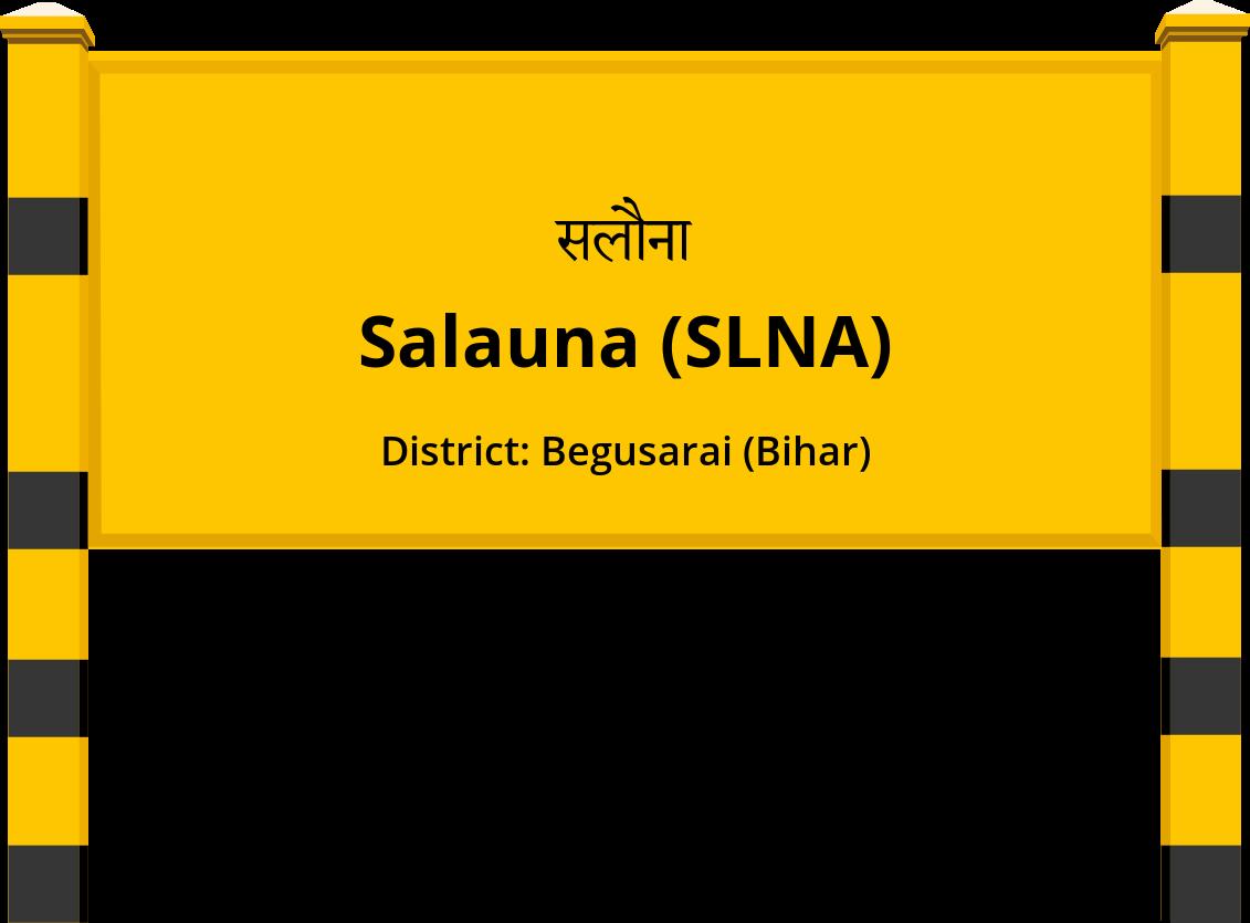 Salauna (SLNA) Railway Station