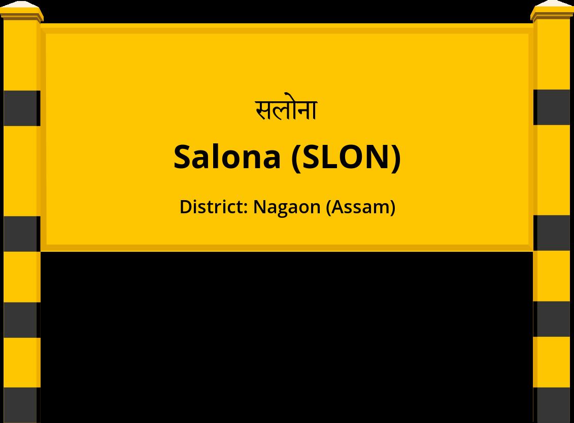 Salona (SLON) Railway Station
