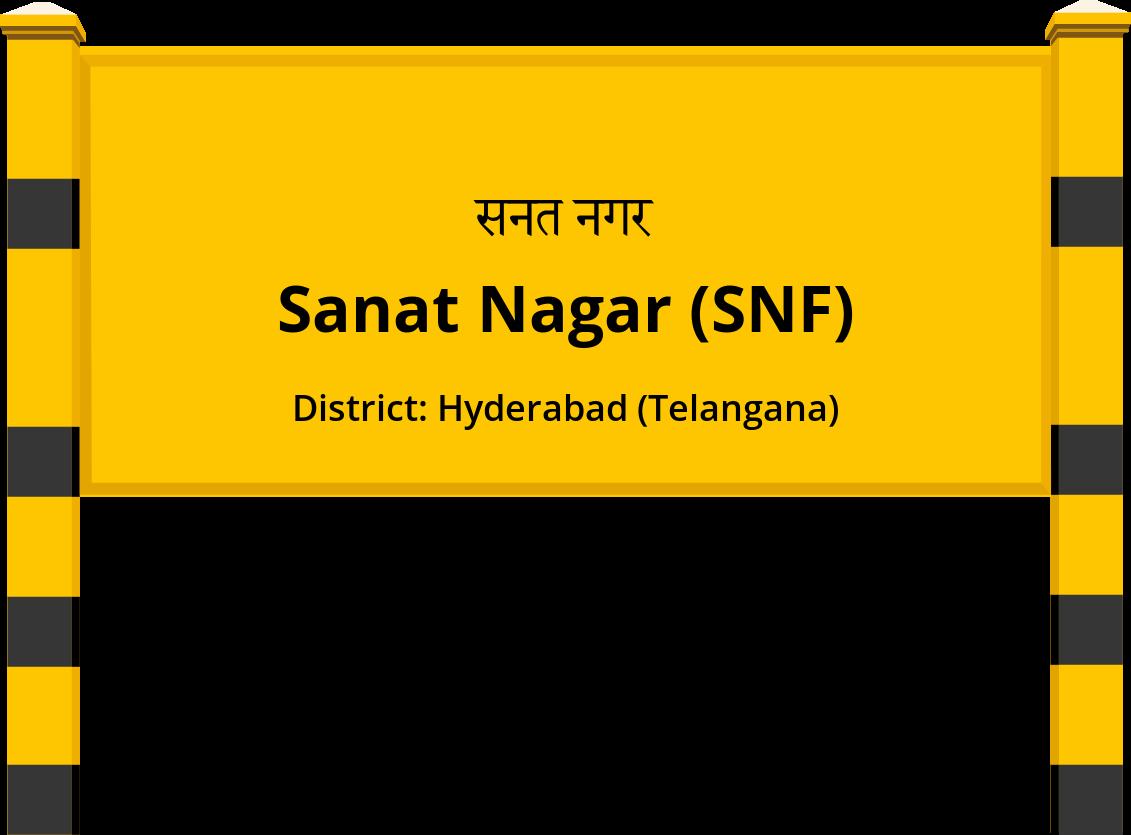 Sanat Nagar (SNF) Railway Station