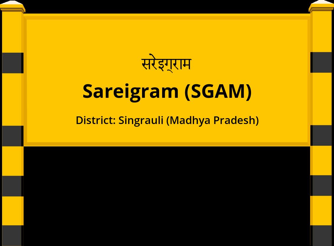 Sareigram (SGAM) Railway Station