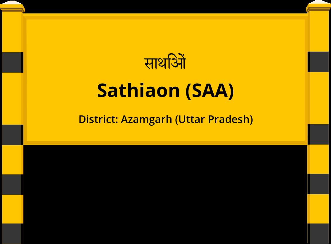 Sathiaon (SAA) Railway Station