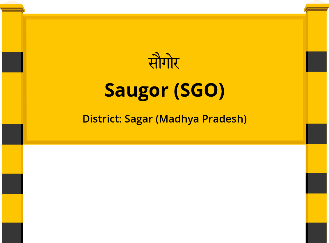 Saugor (SGO) Railway Station