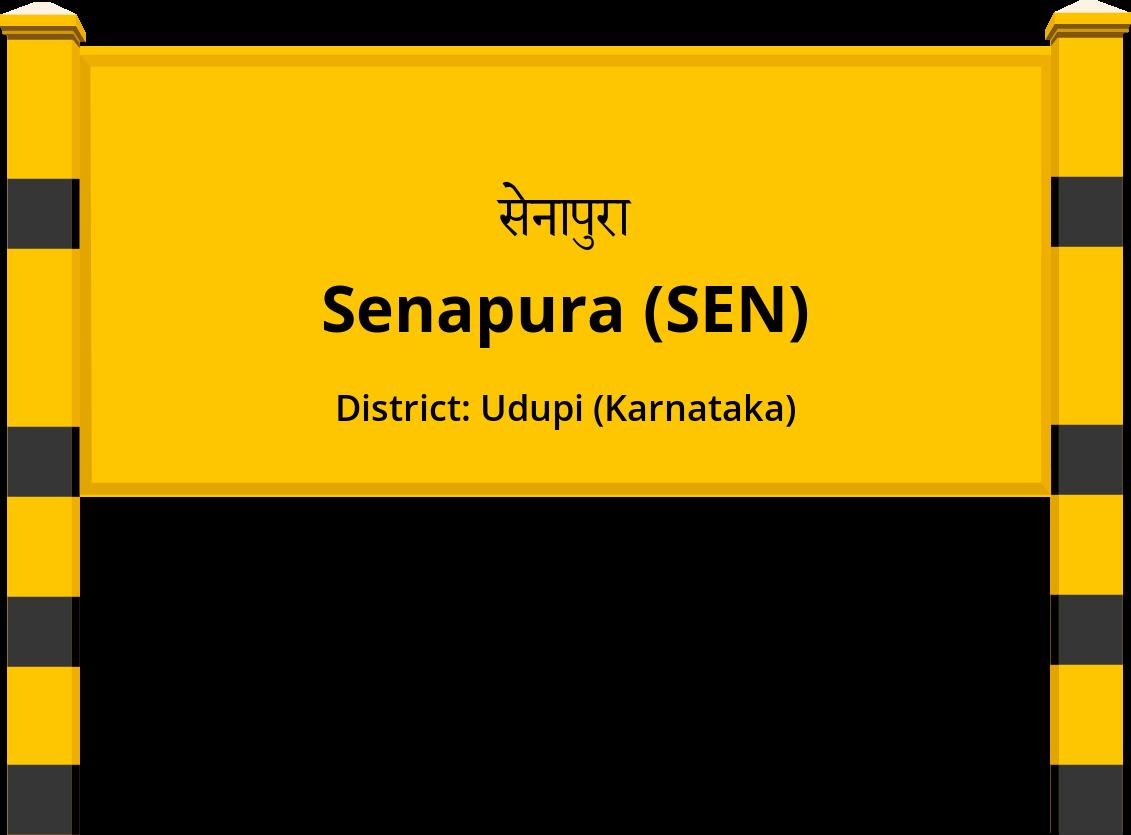Senapura (SEN) Railway Station
