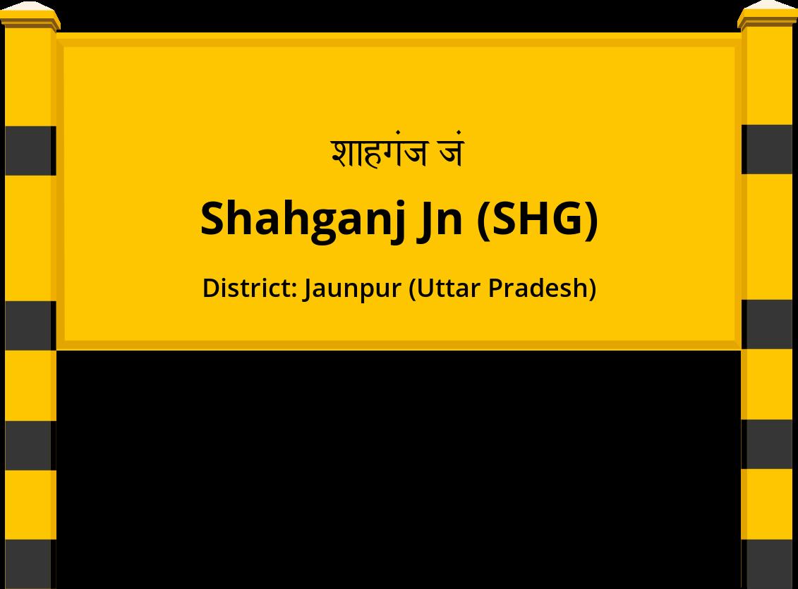 Shahganj Jn (SHG) Railway Station