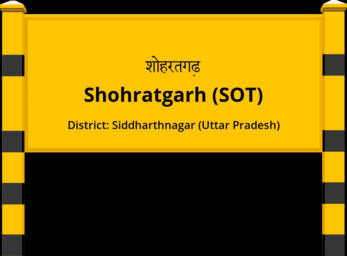 Shohratgarh (SOT) Railway Station