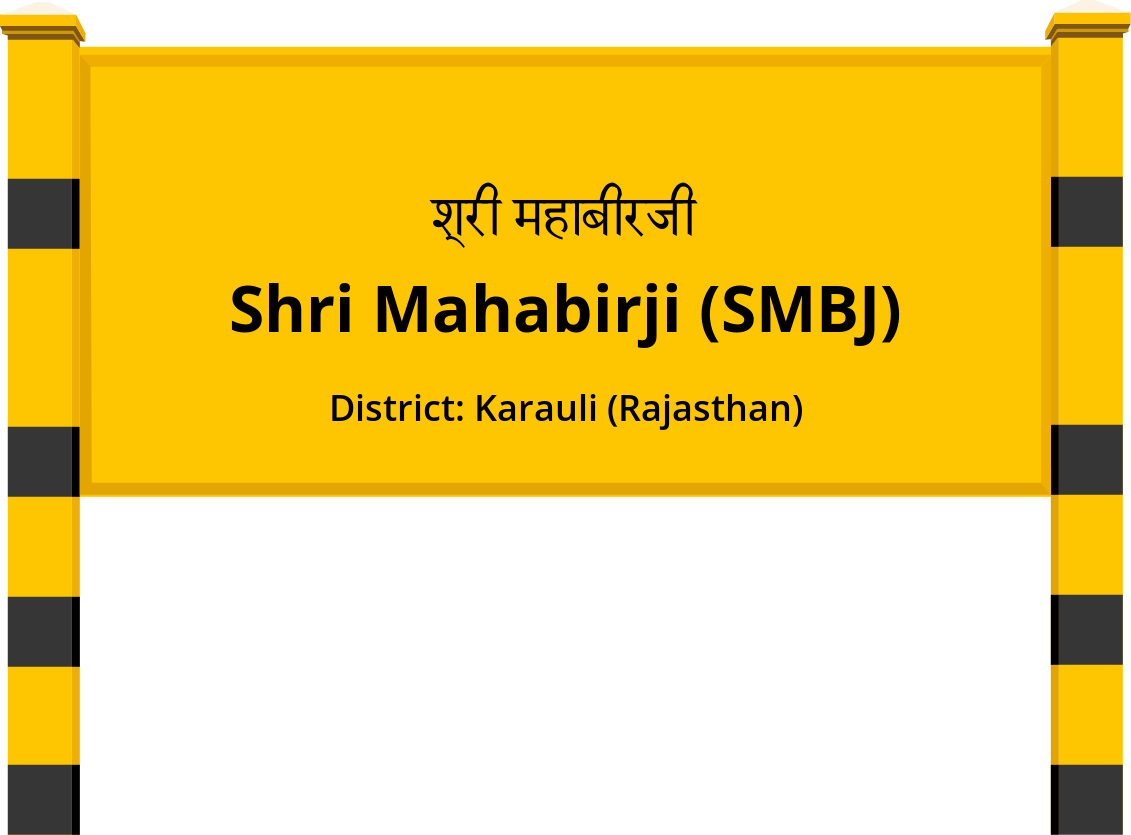 Shri Mahabirji (SMBJ) Railway Station