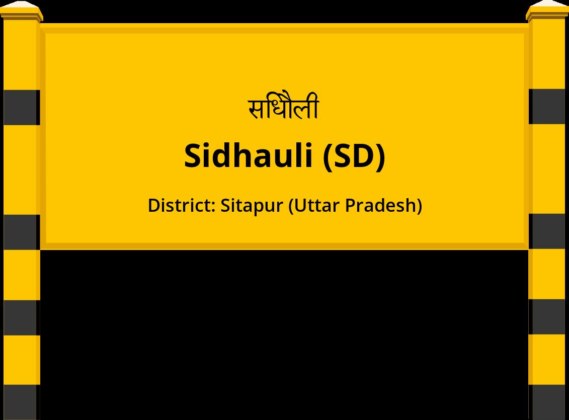 Sidhauli (SD) Railway Station
