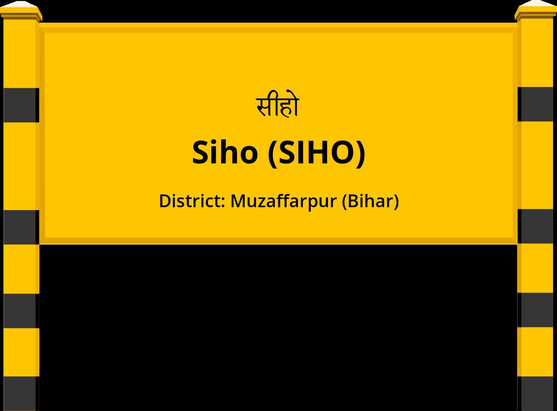 Siho (SIHO) Railway Station