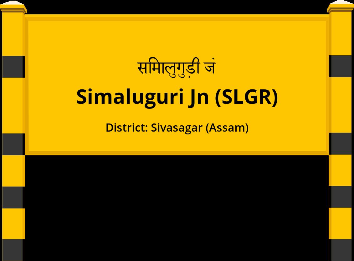 Simaluguri Jn (SLGR) Railway Station