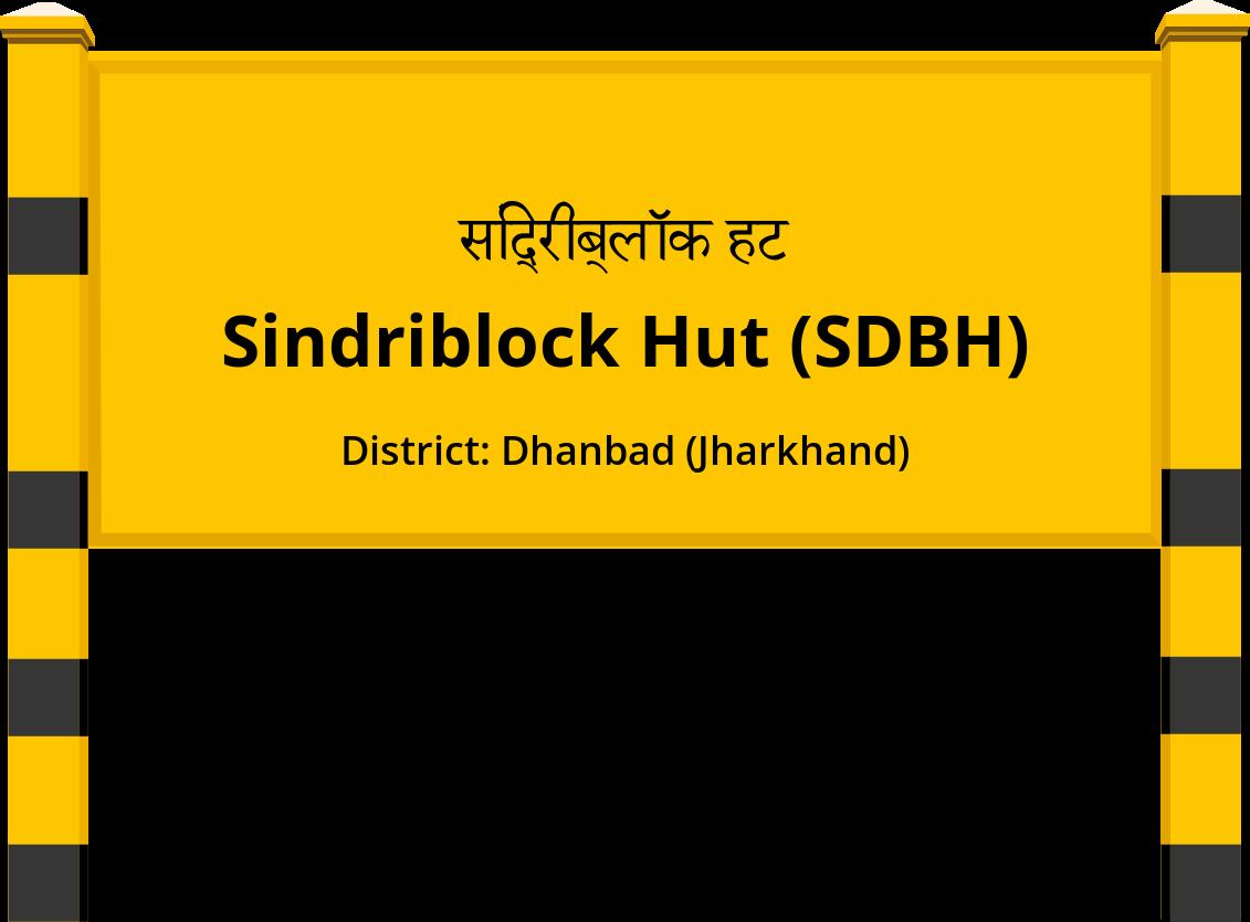 Sindriblock Hut (SDBH) Railway Station