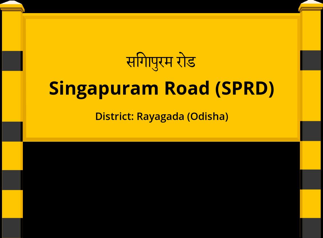 Singapuram Road (SPRD) Railway Station