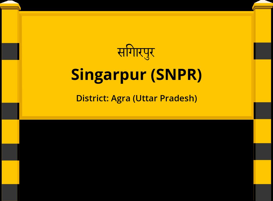 Singarpur (SNPR) Railway Station