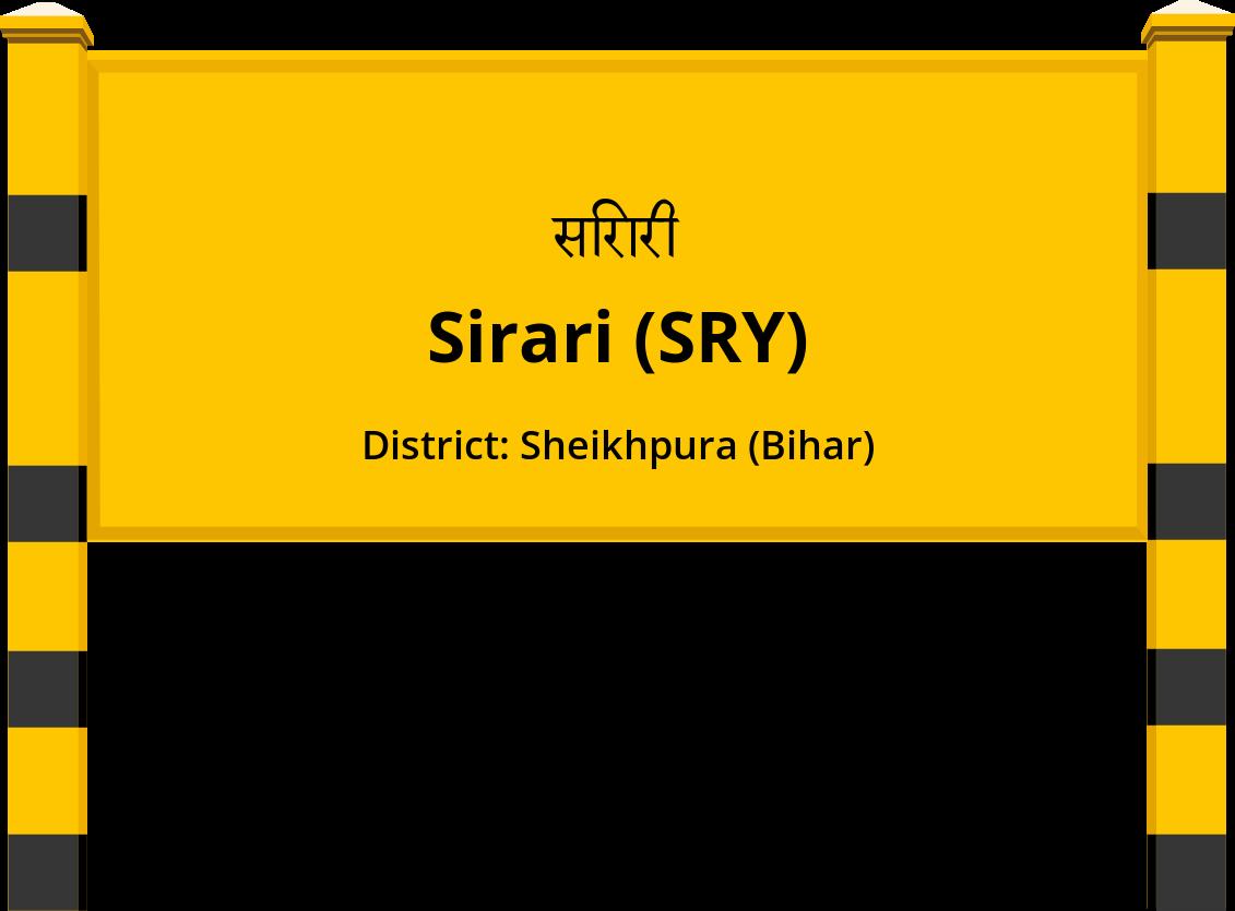 Sirari (SRY) Railway Station
