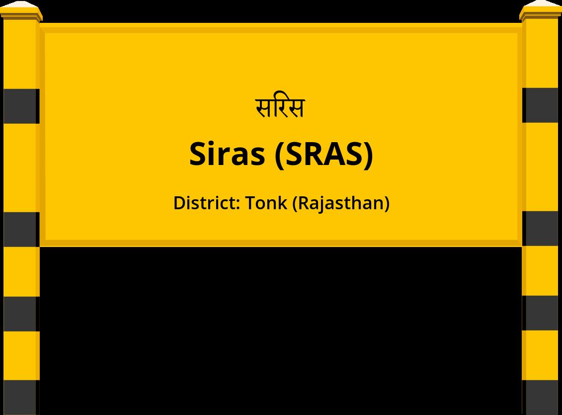 Siras (SRAS) Railway Station