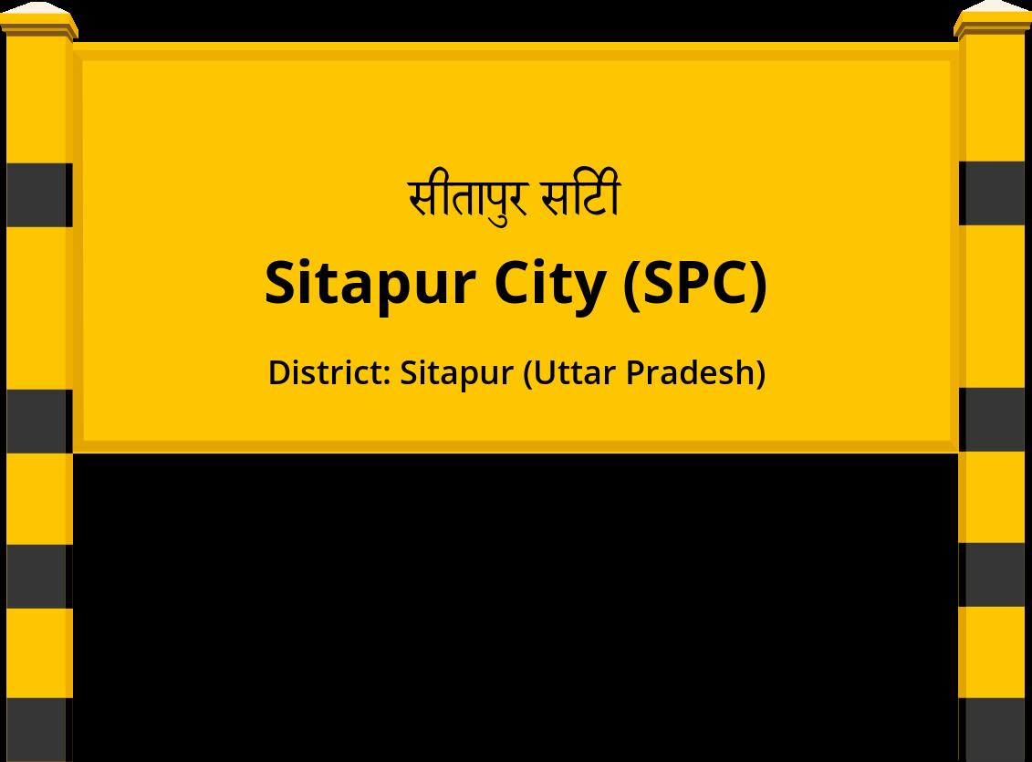 Sitapur City (SPC) Railway Station