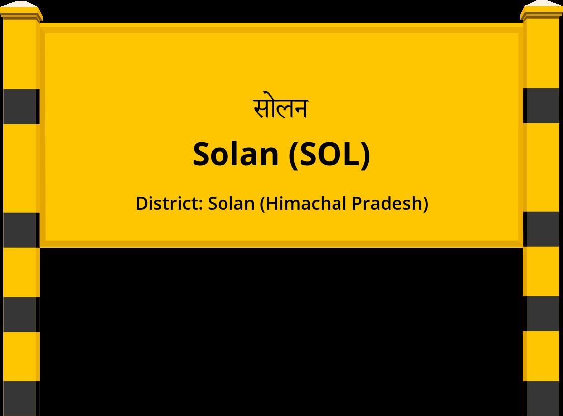 Solan (SOL) Railway Station