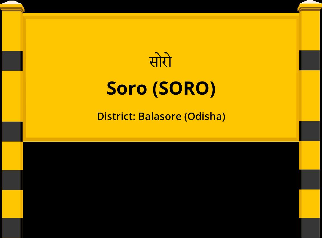 Soro (SORO) Railway Station