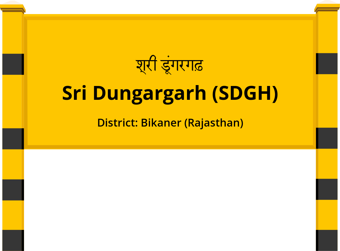 Sri Dungargarh (SDGH) Railway Station