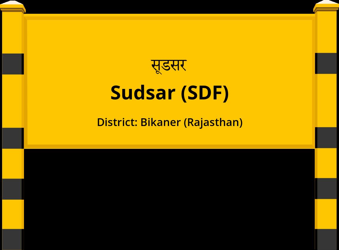 Sudsar (SDF) Railway Station