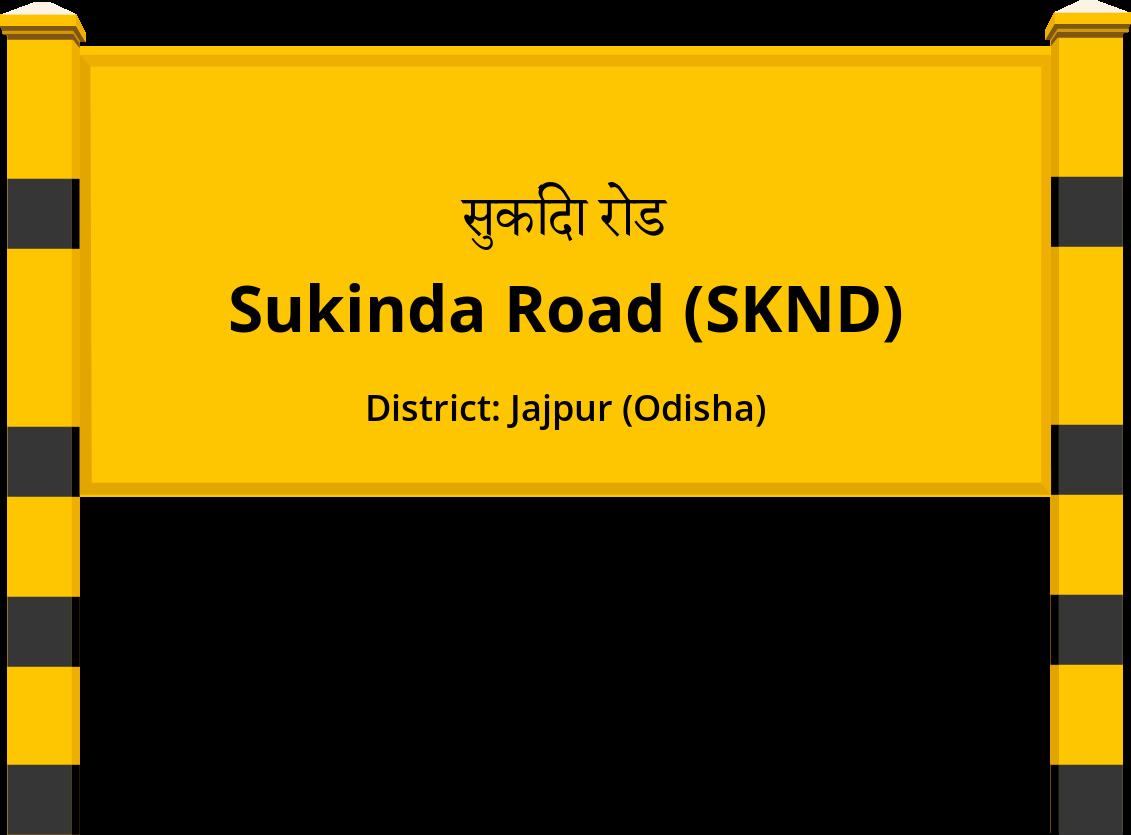 Sukinda Road (SKND) Railway Station