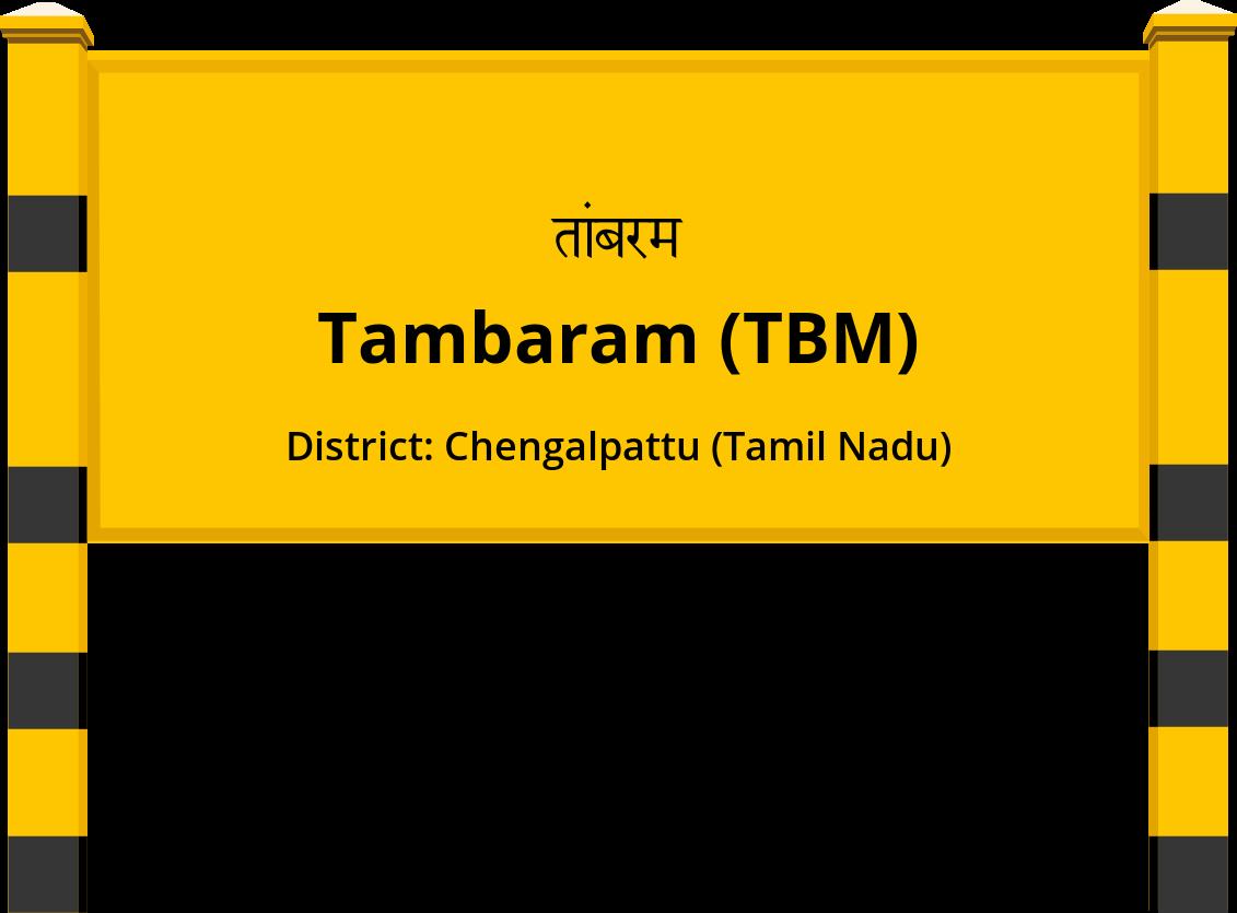 Tambaram (TBM) Railway Station