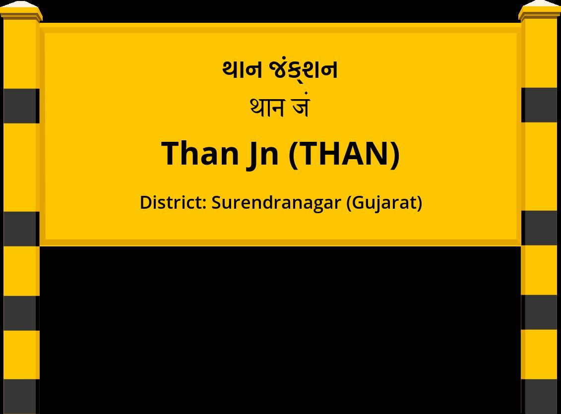 Than Jn (THAN) Railway Station
