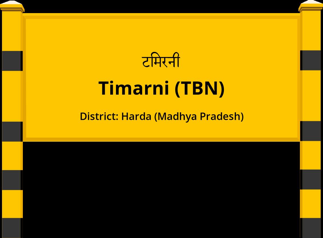 Timarni (TBN) Railway Station