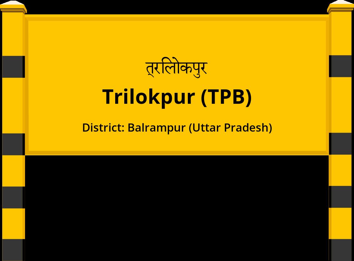 Trilokpur (TPB) Railway Station