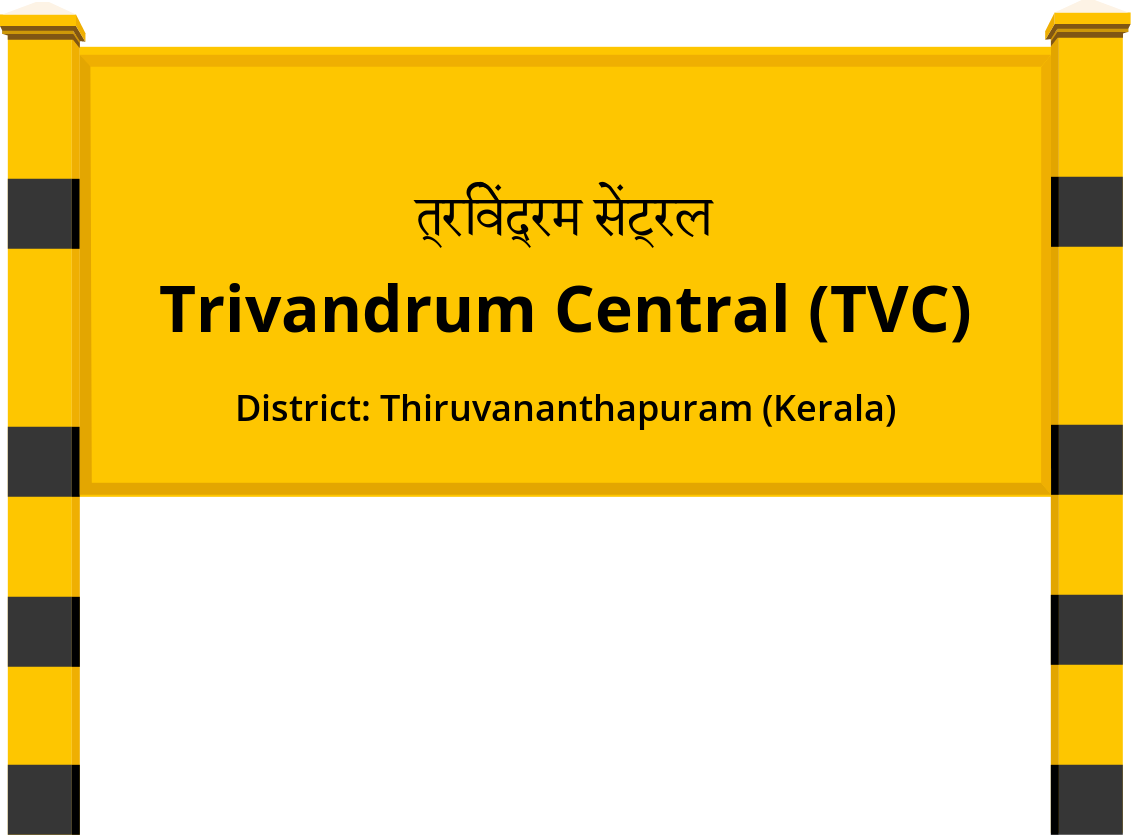 Trivandrum Central (TVC) Railway Station