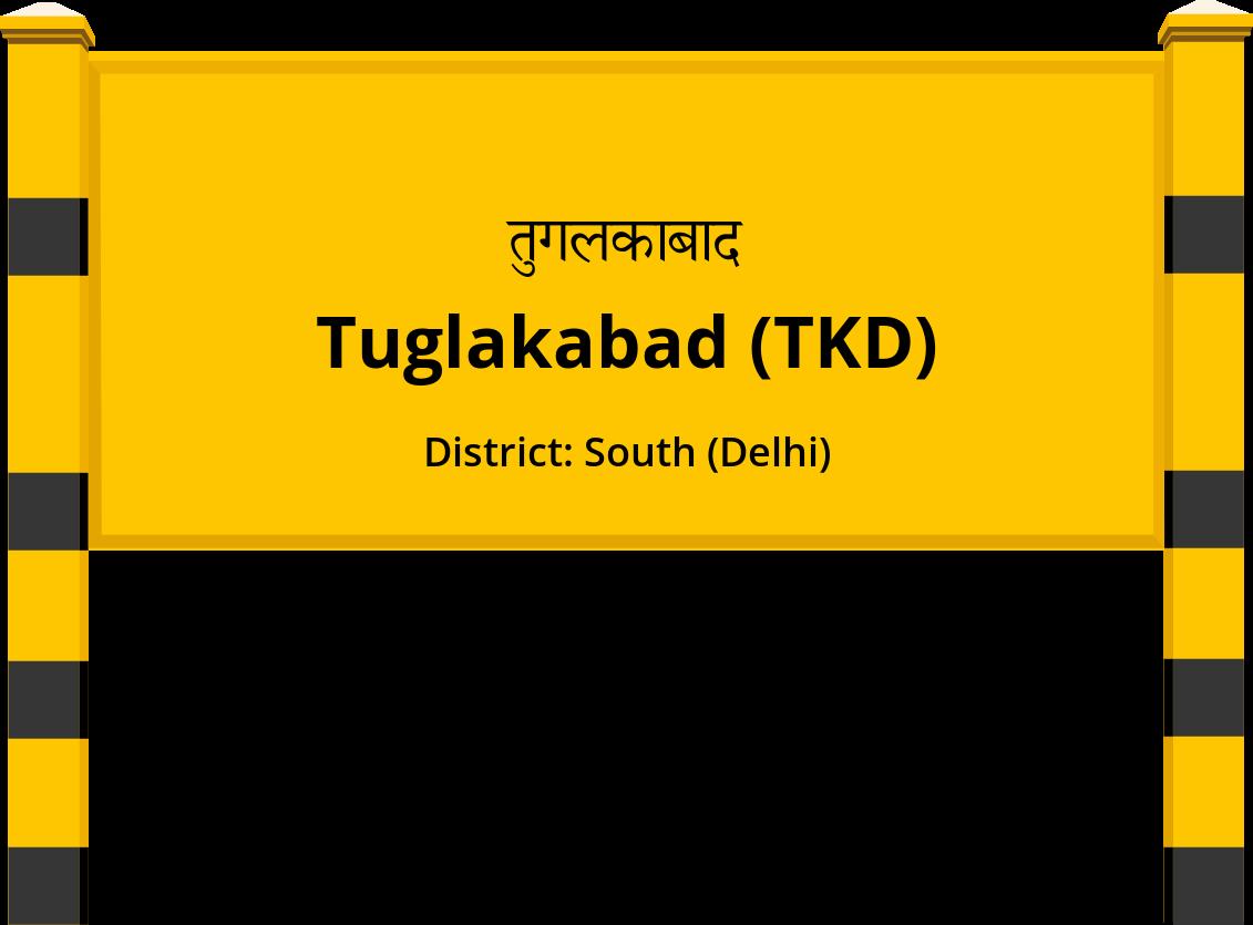 Tuglakabad (TKD) Railway Station