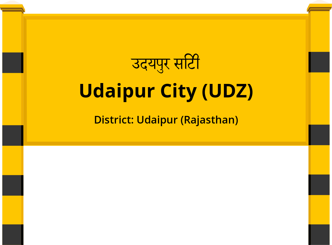 Udaipur City (UDZ) Railway Station