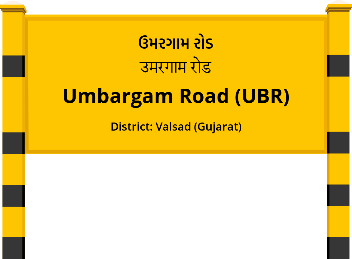 Umbargam Road (UBR) Railway Station