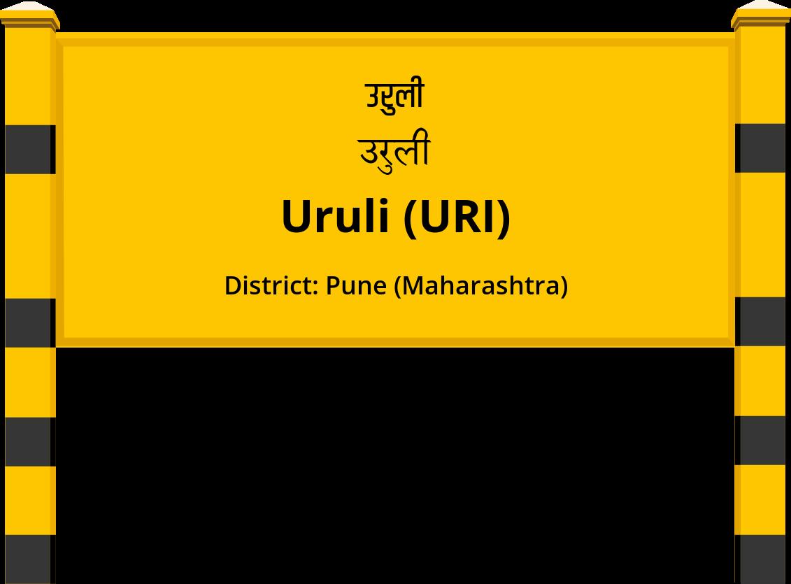 Uruli (URI) Railway Station