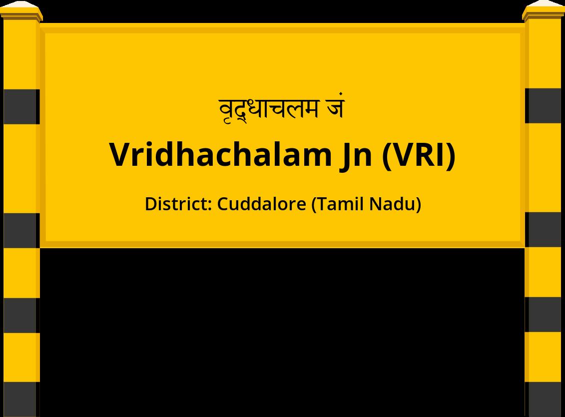 Vridhachalam Jn (VRI) Railway Station