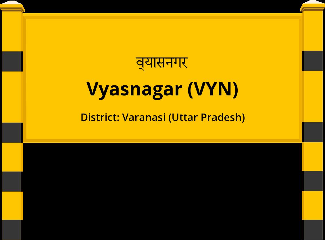 Vyasnagar (VYN) Railway Station