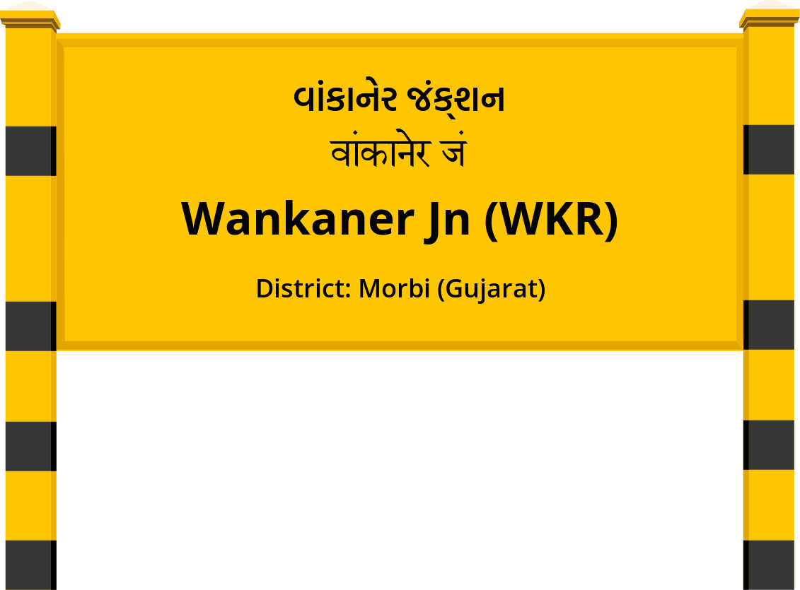 Wankaner Jn (WKR) Railway Station
