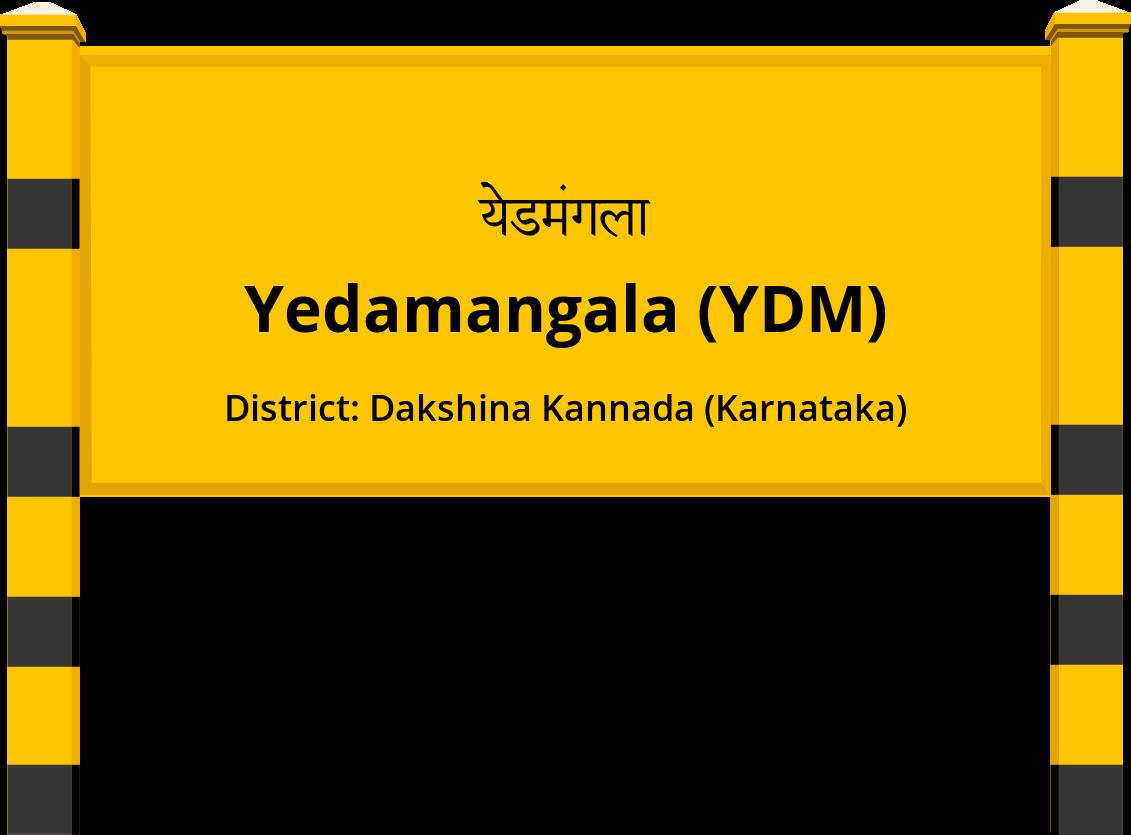 Yedamangala (YDM) Railway Station