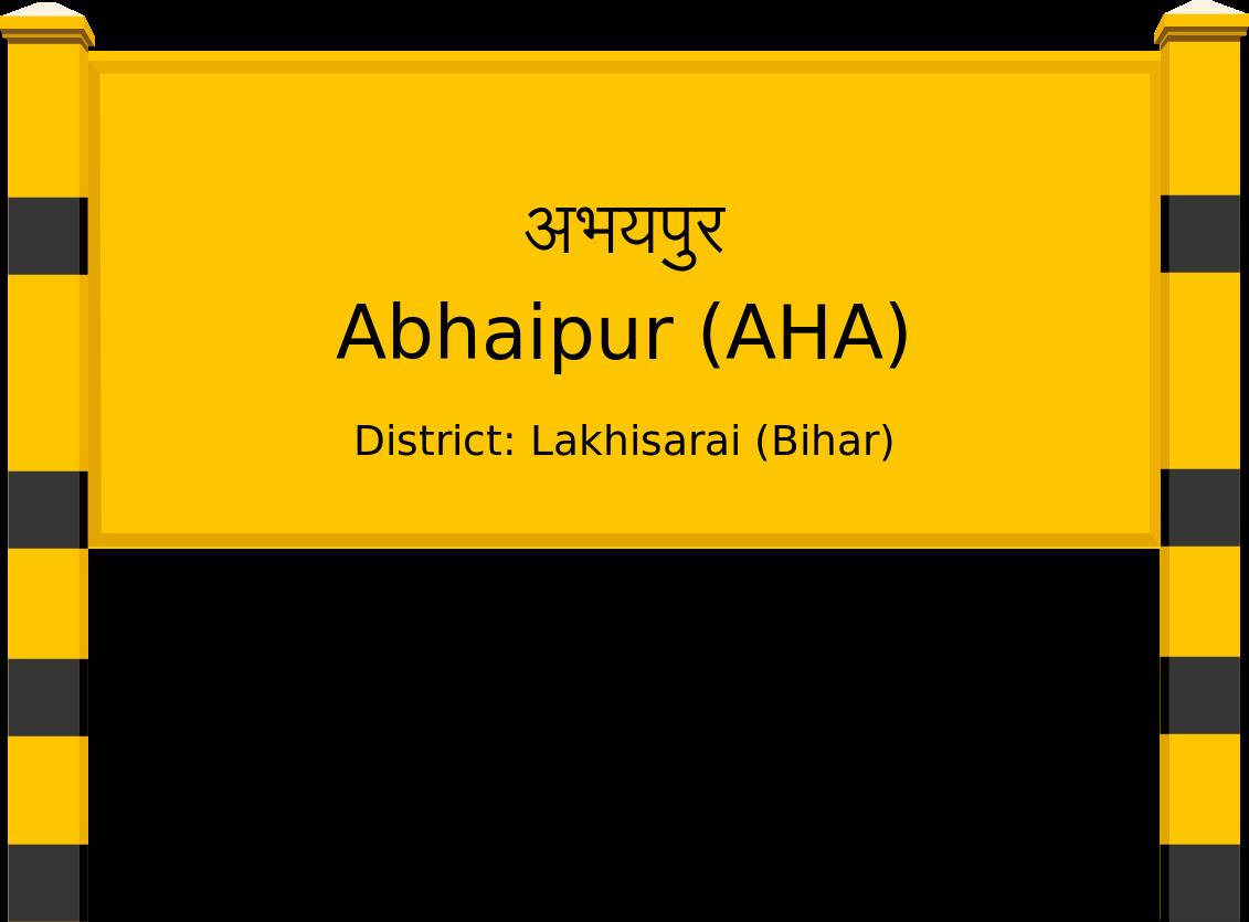 Abhaipur (AHA) Railway Station