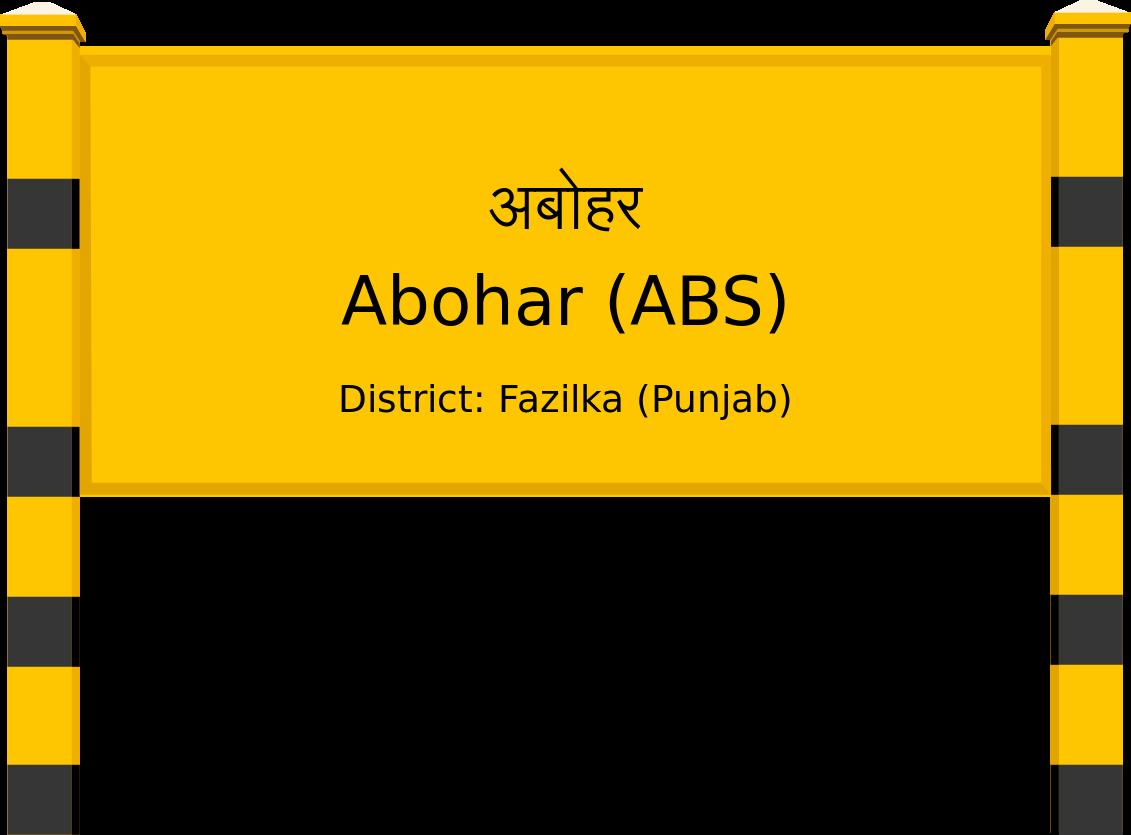 Abohar (ABS) Railway Station