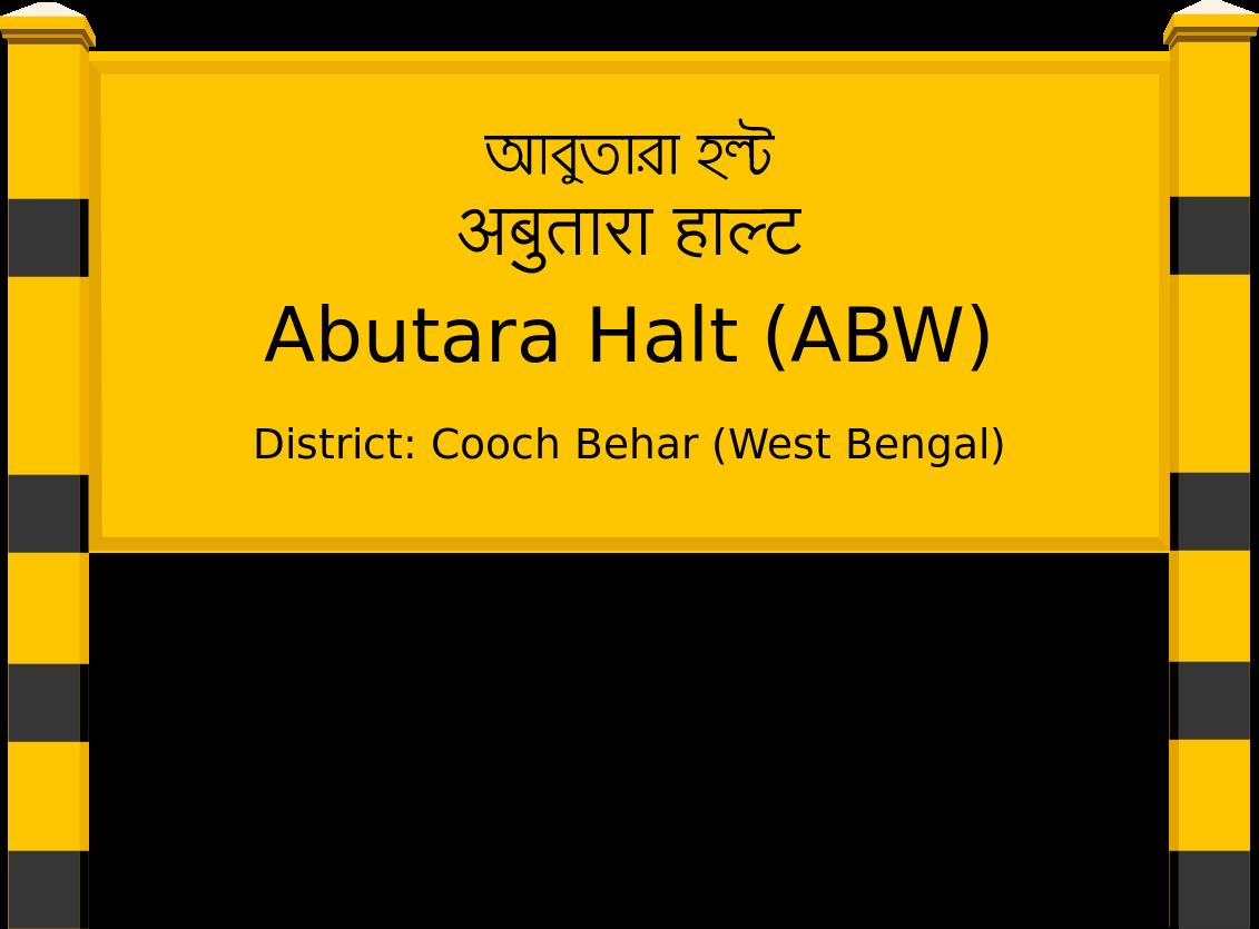 Abutara Halt (ABW) Railway Station