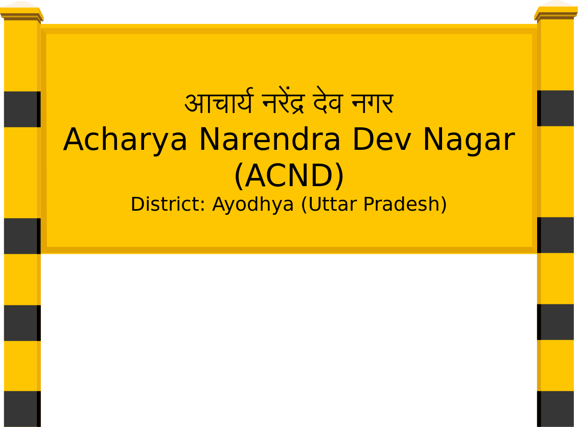 Acharya Narendra Dev Nagar (ACND) Railway Station