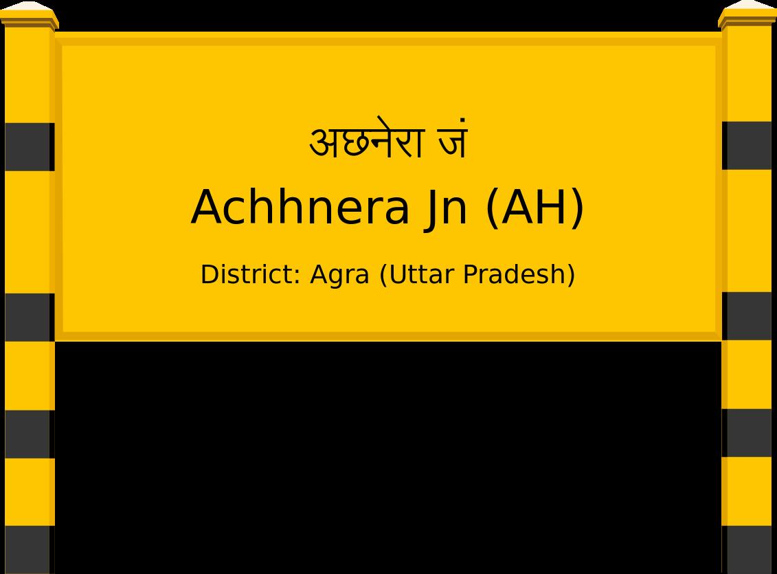 Achhnera Jn (AH) Railway Station